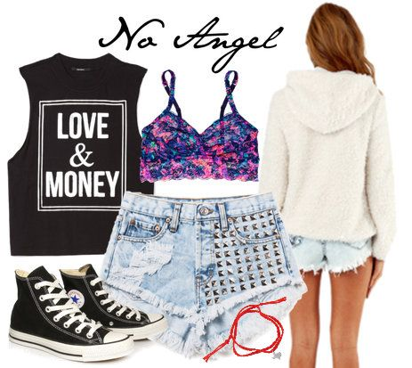 Beyonce No Angel Outfit http://www.collegefashion.net/inspiration/fashion-inspiration-beyonces-visual-album-part-1/