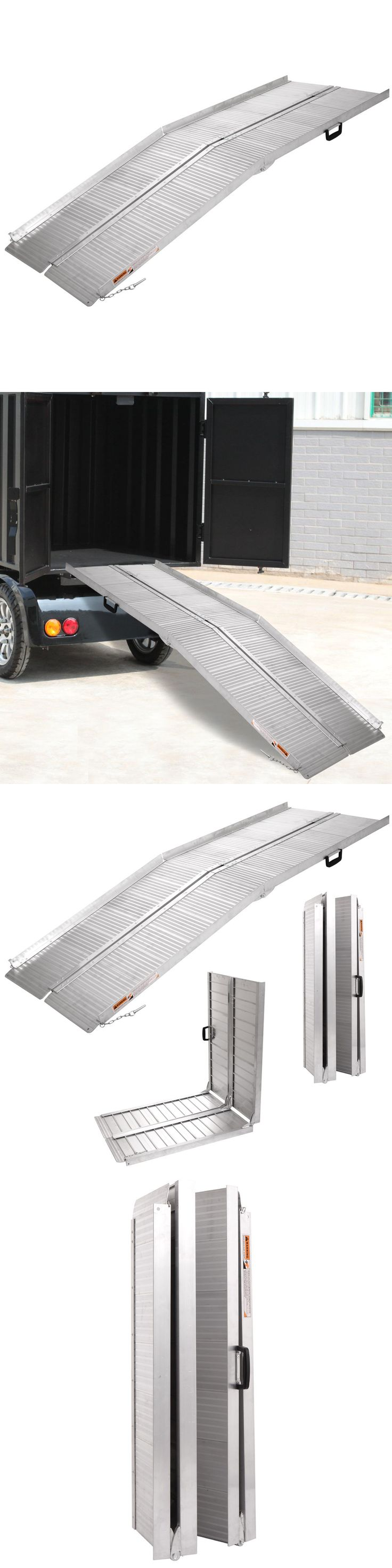Access Ramps: 10 Folding Portable Mobility Handicap Suitcase Wheelchair Threshold Ramp BUY IT NOW ONLY: $229.9