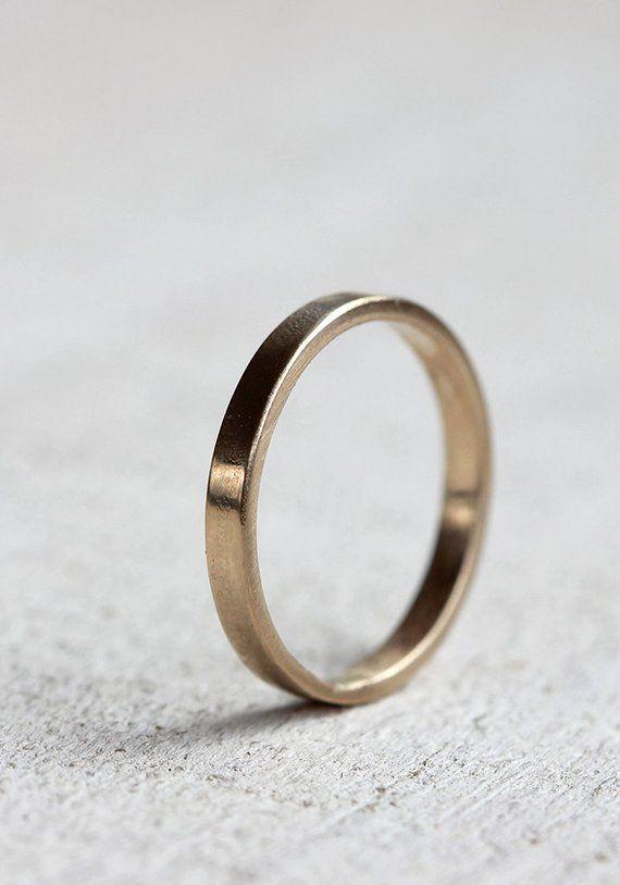 Gold Wedding Ring 14k Gold Woman S Wedding Band Etsy 14k Gold Wedding Ring Womens Wedding Bands Gold Wedding Rings