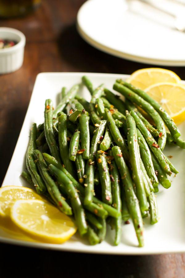 How to make crispy roasted Green Beans - Primavera Kitchen