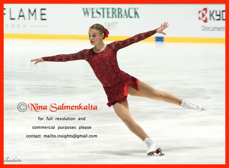 Anni Järvenpää FIN at Finlandia Trophy October 2015