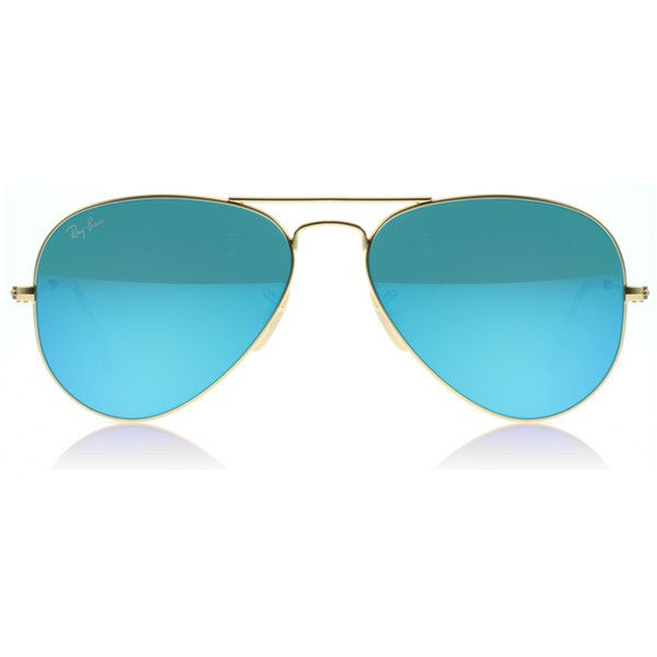 ray ban aviator sunglasses online shopping  matta kulta mxn) ? liked on polyvore featuring accessories, eyewear, sunglasses, glasses, acessorios, blue, ray ban eyewear, aviator style sunglasses, ray