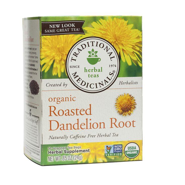Traditional Medicinals Roasted Dandelion Root tea - Thrive Market