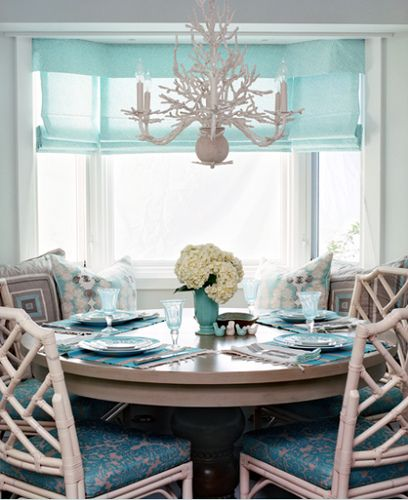 Faux Coral Chandelier House Of Turquoise Waterleaf Interiors Find This Pin And More On Dining Room Delight