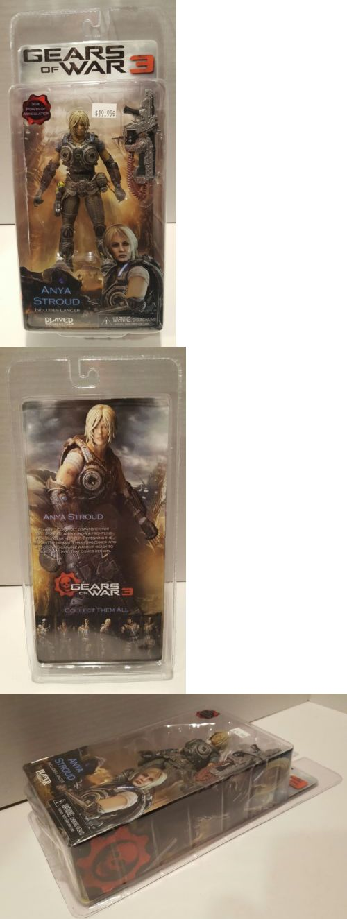 Toys And Games: Neca Gears Of War 3 Series 1 Anya Stroud Action Figure -> BUY IT NOW ONLY: $38 on eBay!