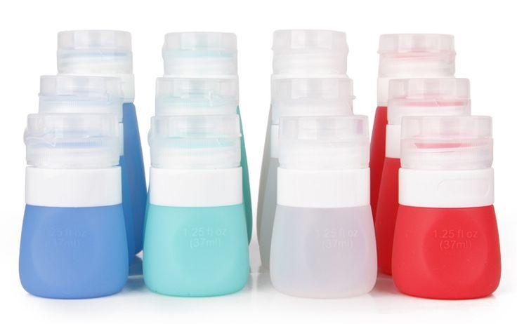 Travel bottle set, TSA approved airplane travel bottle for liquid