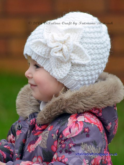 Ravelry: Frozen Flower Hat pattern by Tatsiana Matsiuk