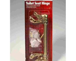 Ace Polished Brass Toilet Seat Hinge. Toilet Seats & Repair Parts... http://toiletmart.com/