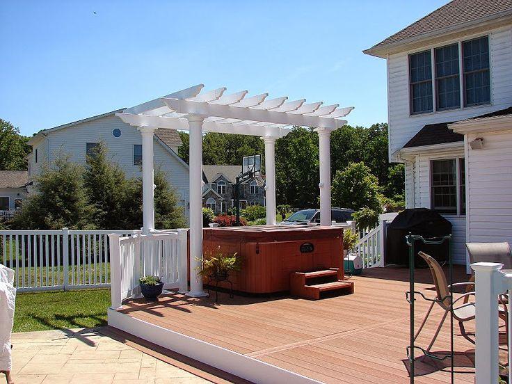 Composite Material Pergola Installation Guide, Easy Installation Wood  Plastic Garden Pavilion