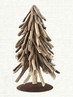 "12"" Driftwood Holiday Tree"