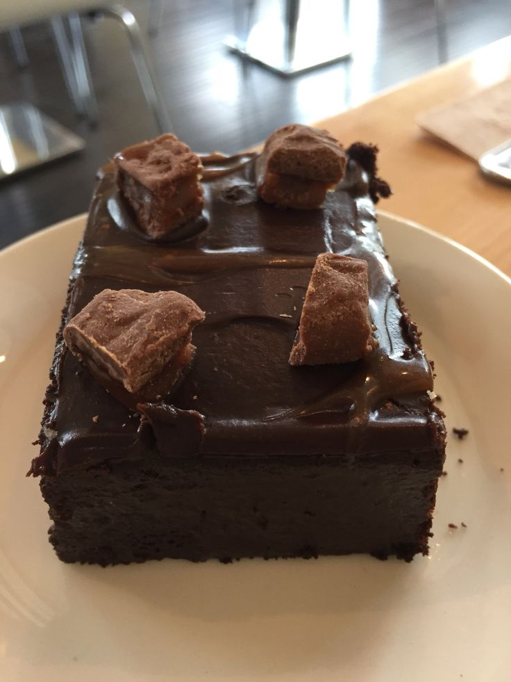 Brownies with brownies on top. How wonderful from a bakery that has been in business for over 30 years.