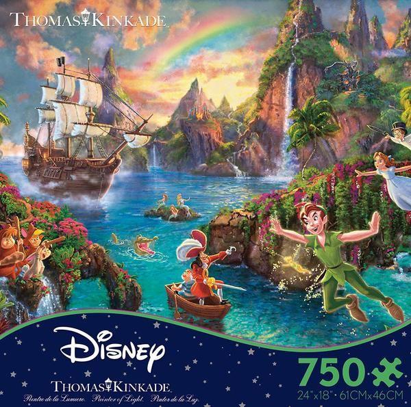 Peter Pan Jigsaw Puzzle Box