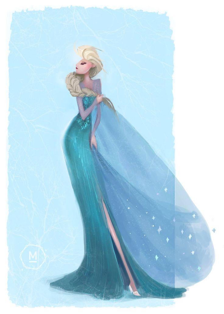 Elsa The Snow Queen by himaru-of-neptune on deviantART