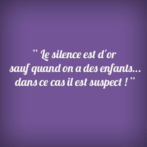 #Silence #Enfants #Wondercity