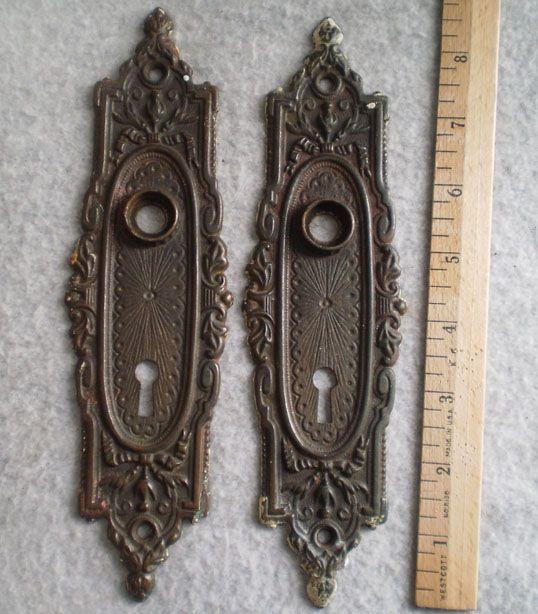 Antique victorian door plates | Antique Door Hardware | Pinterest |  Victorian door, Antique door hardware and Doors - Antique Victorian Door Plates Antique Door Hardware Pinterest