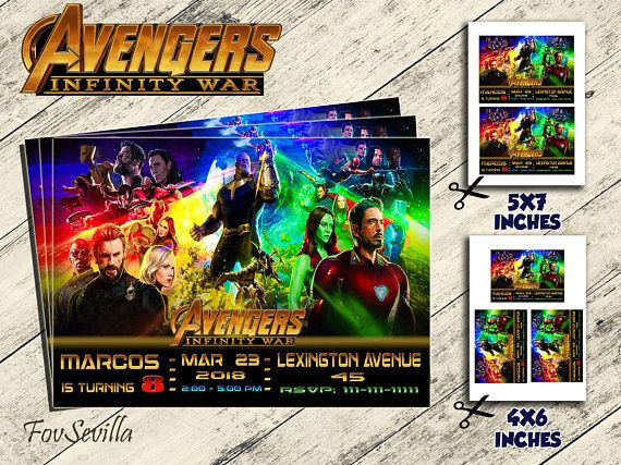 He encontrado este interesante anuncio de Etsy en https://www.etsy.com/es/listing/586497114/avengers-infinity-waravengers-infinity