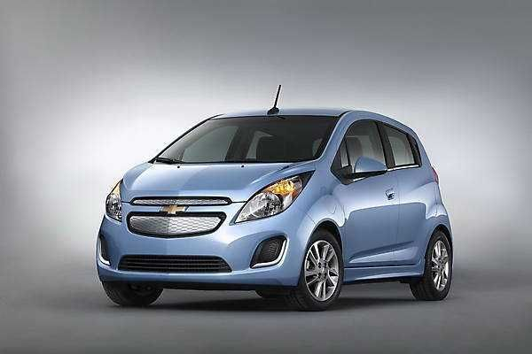 2018-2019 Chevrolet Spark EV — Electric Spark from 2018-2019 Chevrolet