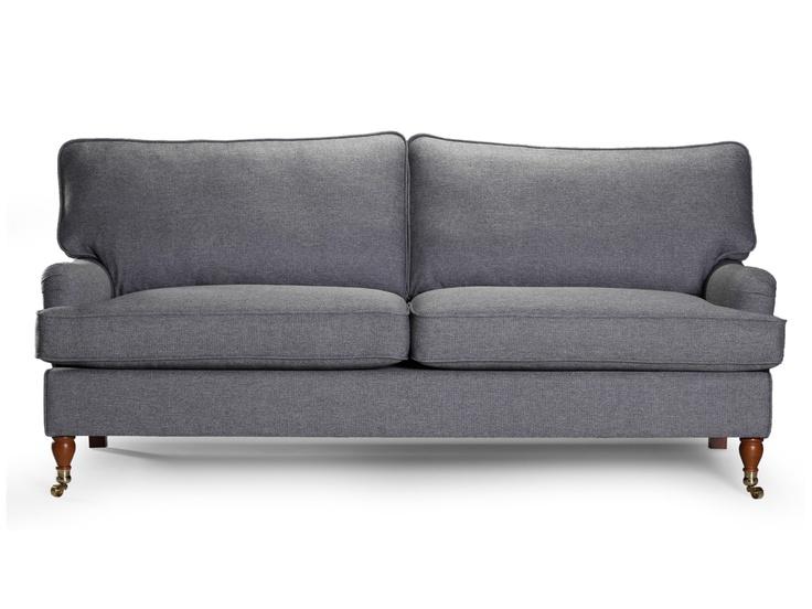 HOWARD 3,5-sits Ljusgrå i gruppen Inomhus / Soffor / ALLA SOFFOR hos Furniturebox (110-32-24042)