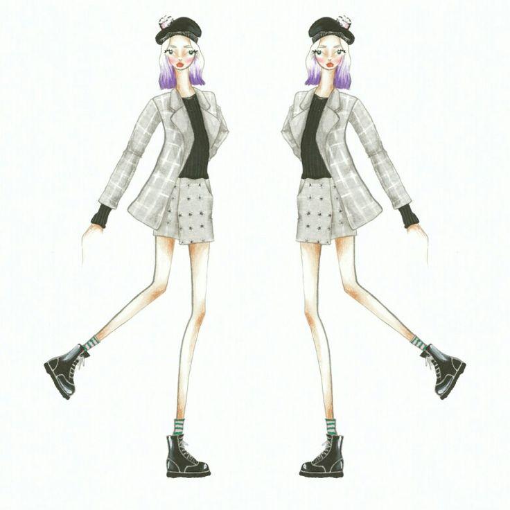 Wonderland (14) Fashion sketch