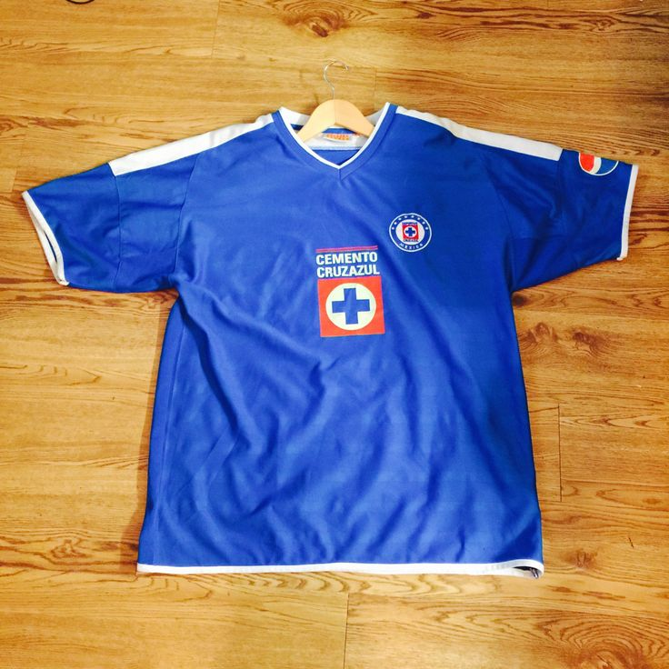 Vintage Deportivo Cruz Azul Mexico Pepsi Soccer Jersey by VNTGvault on Etsy