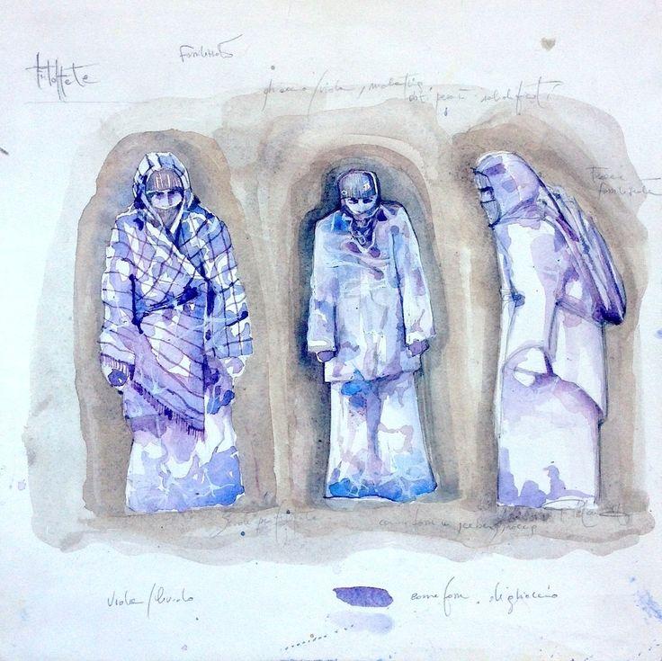 Giuseppina Maurizi - costume designer - scenographer - Filettate Teatro di taormina