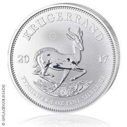 Silber Krügerrand 2017 - eine Weltneuheit - Silber aus Südafrika kaufen
