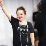 Katie Meade is making waves with her new beauty campaign.  Meadefrom Des Moines Iowahas been chosen to front Beauty & Pin Ups campaign for their latestfearless hair range and has caught the attention of news outlets across the world in doing so.  On their websiteBeauty & Pin Ups highlight howMeade who has Downs Syndrome has defied stigma overcome heart surgery and competed in the Special Olympics. When we hear the word fearless we think of Katie Meade they said.  Makeup makes me feel good…