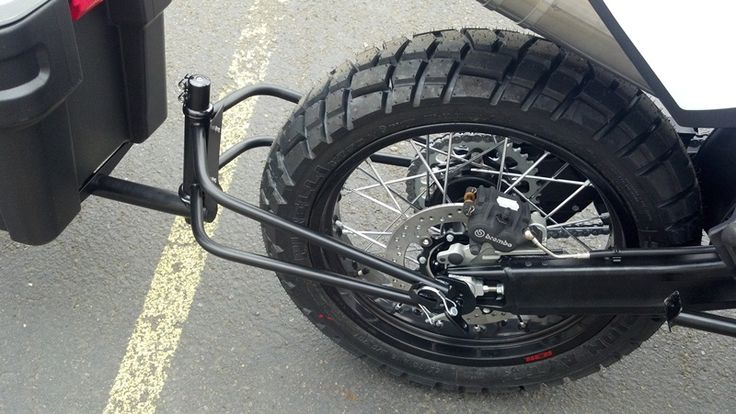 how to build a single wheel motorcycle trailer