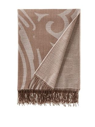 70% OFF Somma Gea Lambswool Throw (Natural)