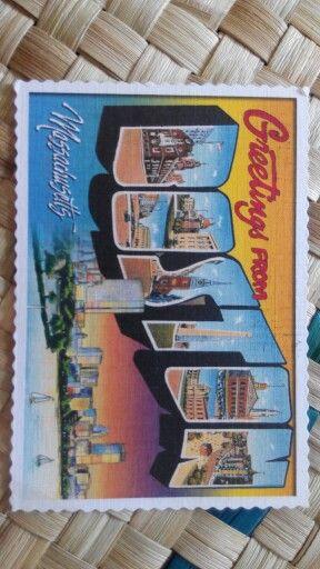 Postcard from Sitiaishah, Boston