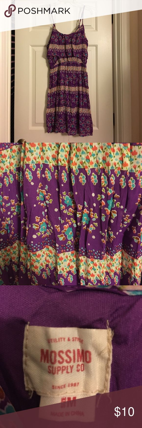 Mossimo purple sundress Mossimo purple sundress. 100% polyester Mossimo Supply Co. Dresses