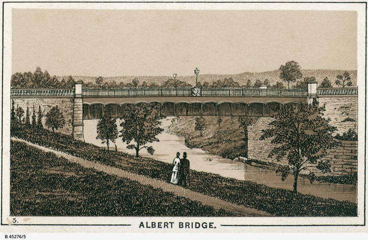 Albert Bridge, Adelaide c1890