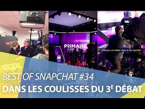 Best-of Snapchat #34 : Dans les coulisses du 3è débat des primaires de gauche