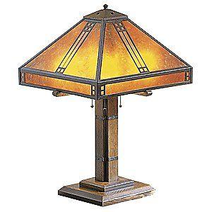 Prairie Table Lamp by Arroyo Craftsman