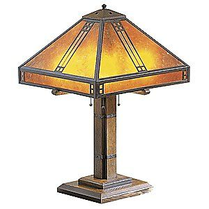 prairie table lamp craftsman lamps craftsman windows craftsman. Black Bedroom Furniture Sets. Home Design Ideas