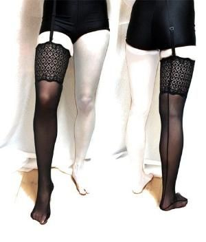 Pattern to make your own Thigh Highs !!!! Professional lingerie patterns and sewing supplies — Make Bra by terri