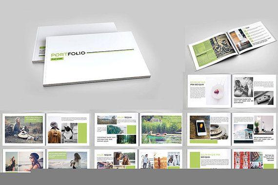 Fotografie Portfolio Brochure | Fotograaf portefeuille InDesign-sjabloon | Instant Download | PB-020PB-004