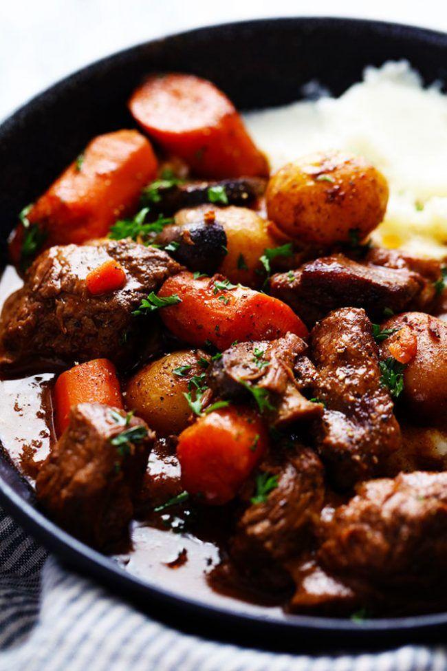 Beef stew recipe crockpot