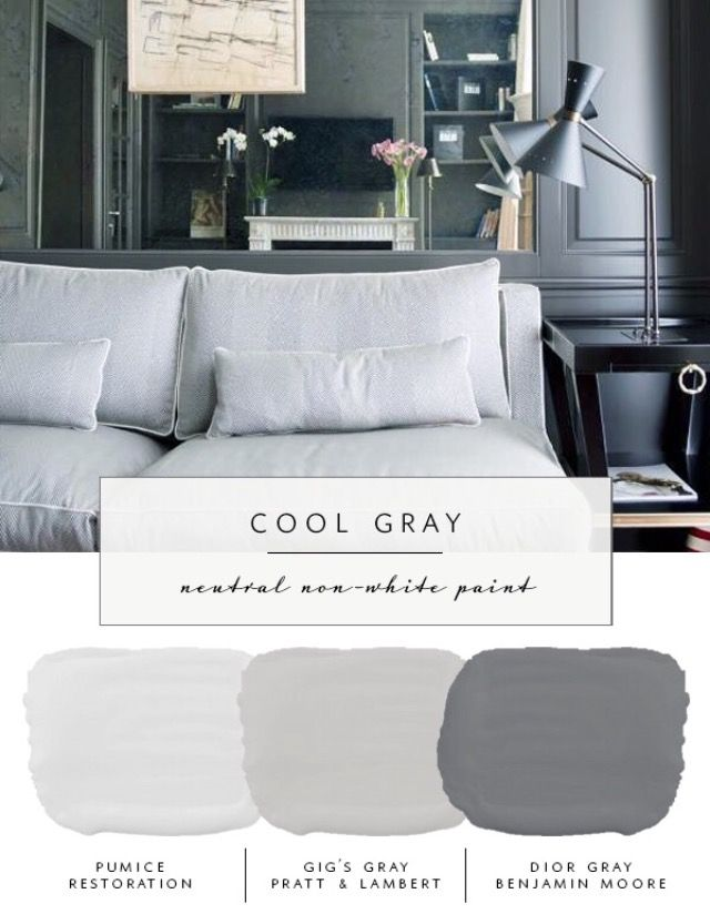 Cool Gray Paint Colors