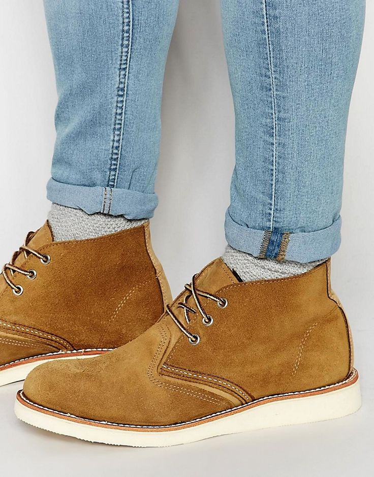 Red+Wing+Chukka+Boots