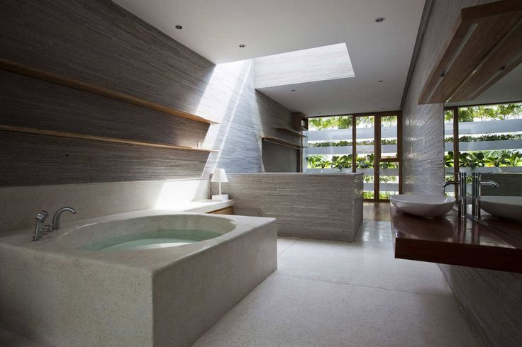 bathroom Assez de place tant mieux: Green Home, Green Houses, The Tenet, Green Wall, Greenhouses, Nghia Architects, Vo In, Small Houses, Stacking Green