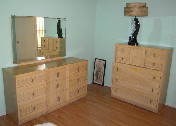93 best 1950 39 s blond furniture images on pinterest - Vintage bedroom furniture for sale ...