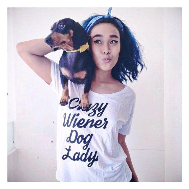 Crazy Wiener Dog Lady!