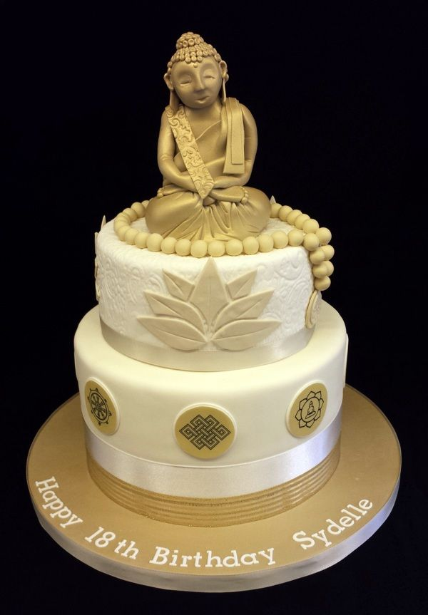 Buddha Cake By Nicola Cooper Via Behance Baking Ideas