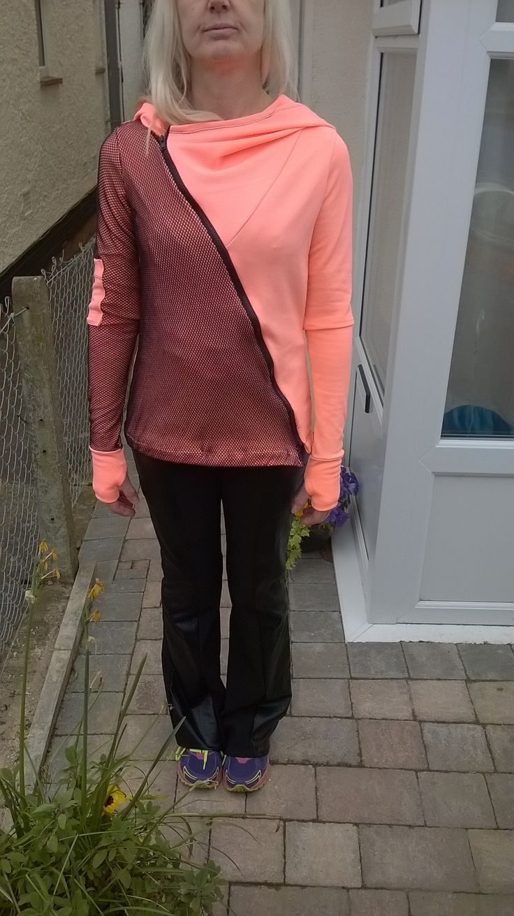 Flares and sports top, http://brackencrafts.blogspot.co.uk/