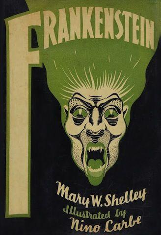 Frankenstein Book Cover 1932