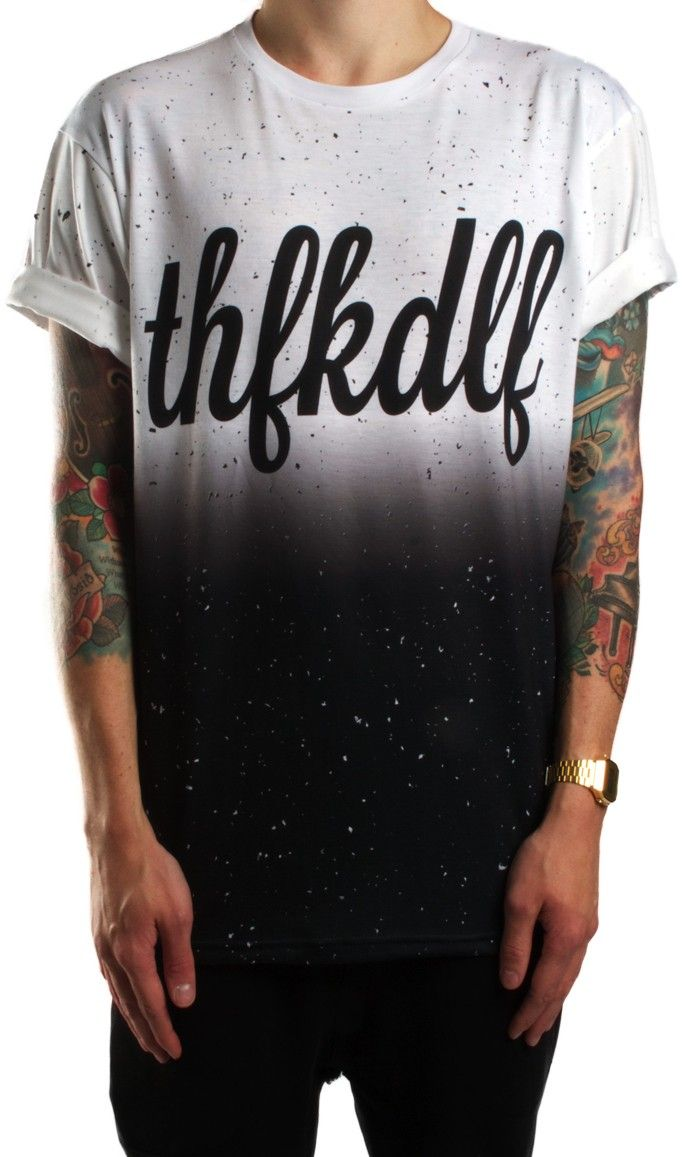 THFKDLF   FADE FLECK TEE - Store