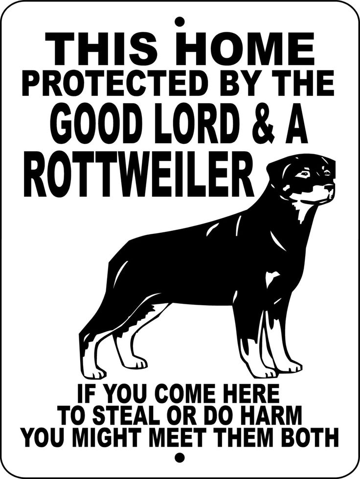 ROTTWEILER Dog Sign 9x12 ALUMINUM glrott1 by animalzrule on Etsy, $12.00