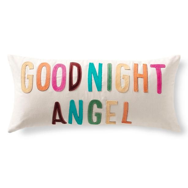Goodnight Angel Pillow