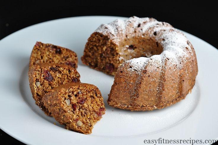 The Best Oatmeal Bundt Cake - Easy Fitness Recipes